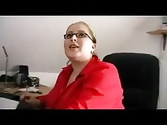 Boss gratuit xxx vidéos - porno potelé rouge tête
