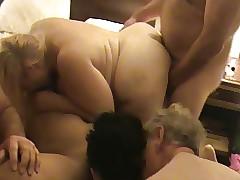 Orgy free sex clips - white bbw ass