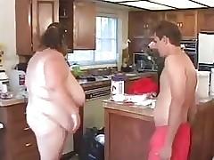 Bubble Butt free sex tube - fat couple having sex